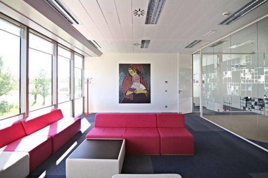 Espacios abiertos en oficinas