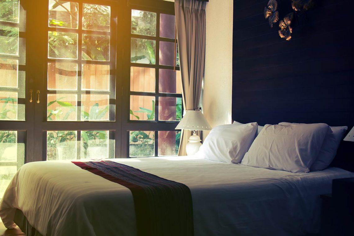 Dormitorio apto para el descanso