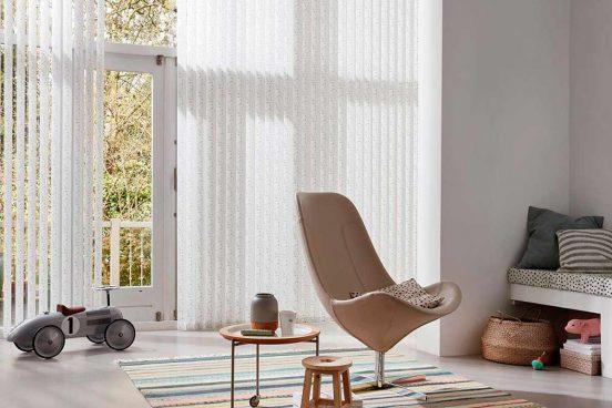 Persianas y cortinas: limpieza