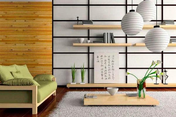 decoración en estilo oriental